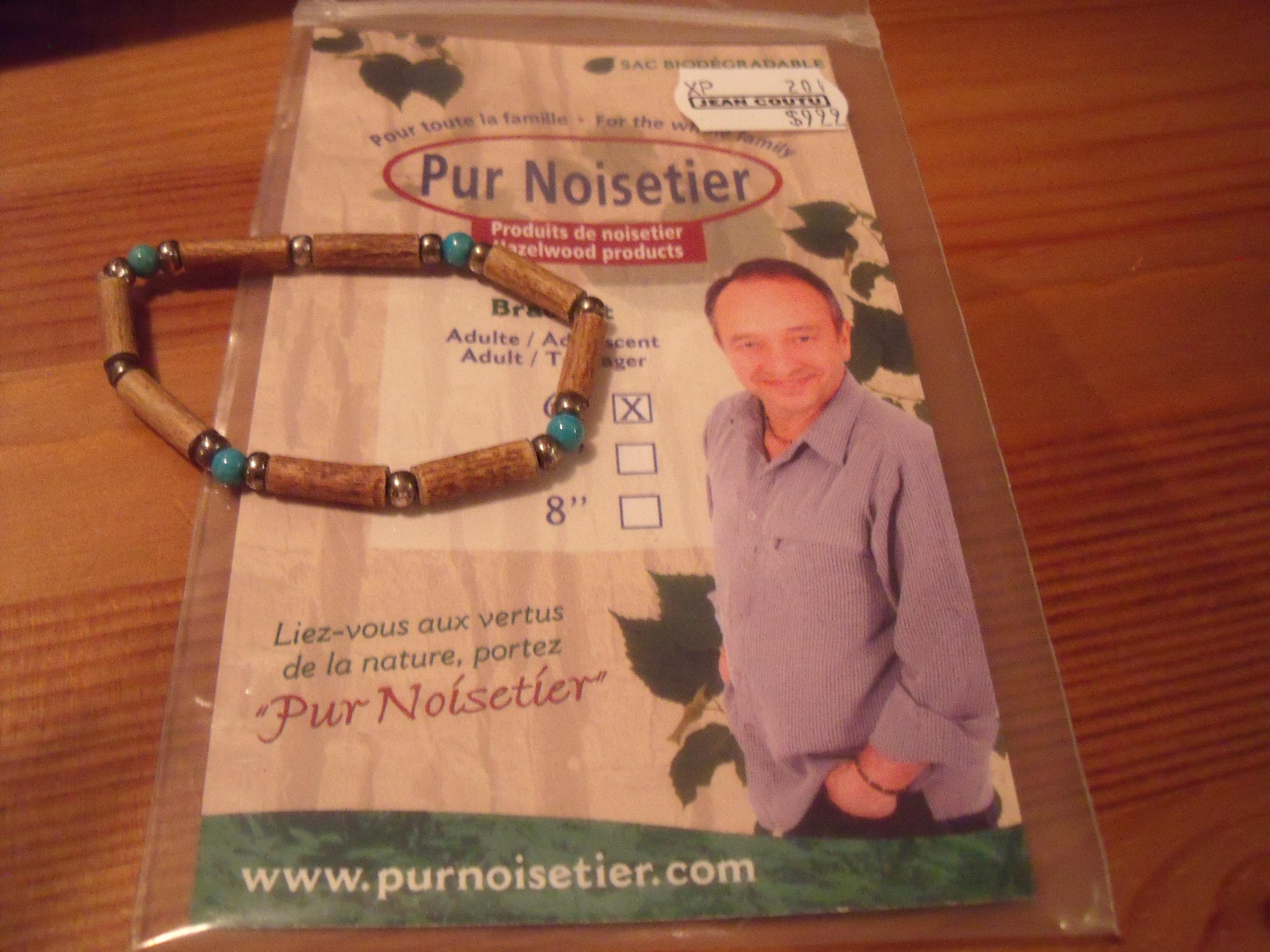 Vente de bracelet en noisetier