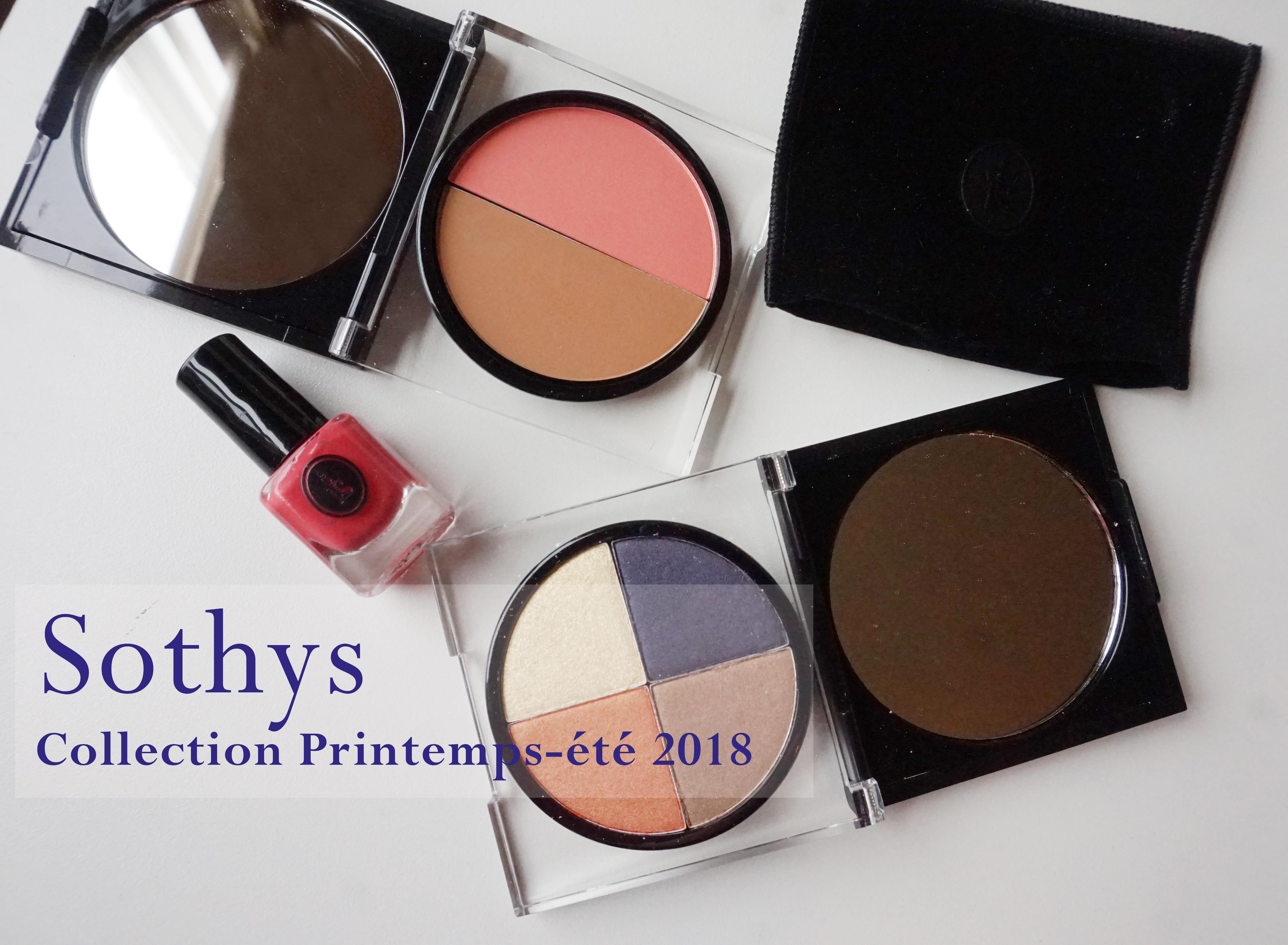 La nouvelle collection maquillage, printemps,été 2018 de Sothys